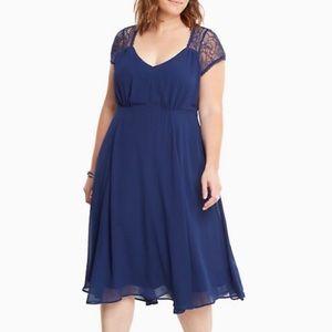 🌷Torrid Blue Dress
